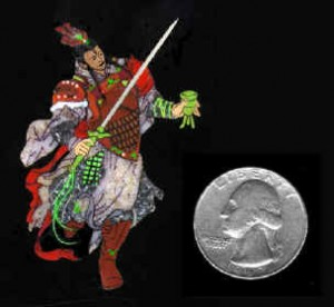 Inlay Innovations Mythical Chinese Warrier Er Lang Shen
