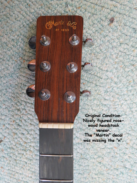 Original Headstock
